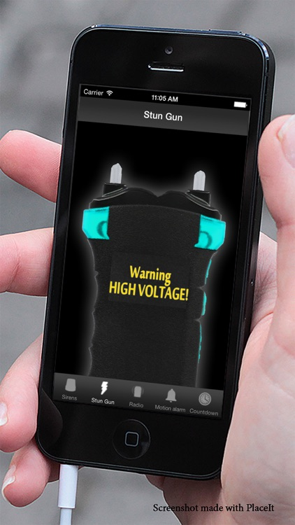 Police alarm - Motion Alarm, Sirens & Stun Gun Simulator screenshot-3