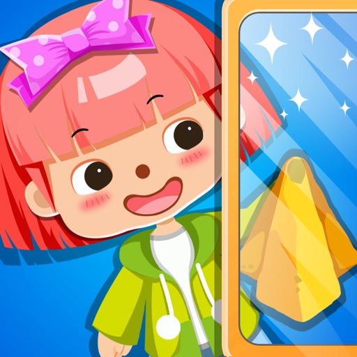 My Little Housekeeper: Playground & Garden Cleaning Game