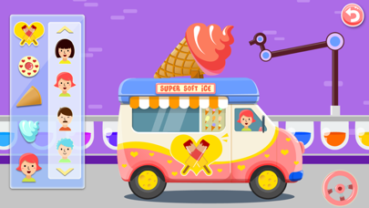 Ice Cream Truck -  Educational Puzzle Game for Kids screenshot three