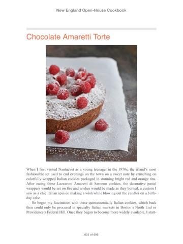 nantucket openhouse cookbook