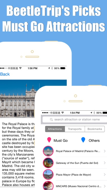 Madrid travel guide and offline city map, BeetleTrip subway metro trip route planner advisor