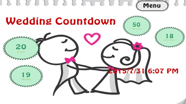The Wedding Countdown Free