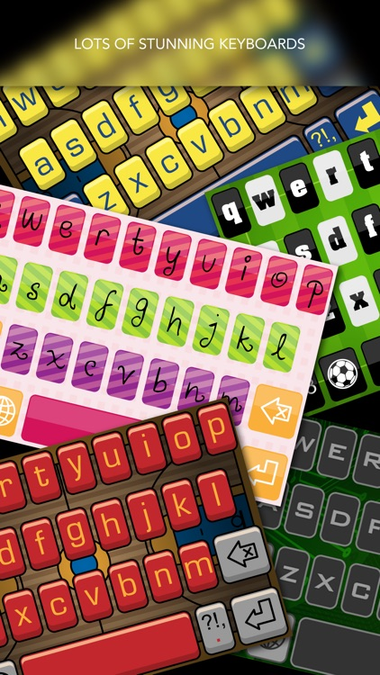 Custom Keyboard - Beautiful Keyboard Themes for iOS 8