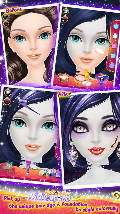 Make Up Me: Halloween - Girls Makeup, Dressup and Makeover Game screenshot-2