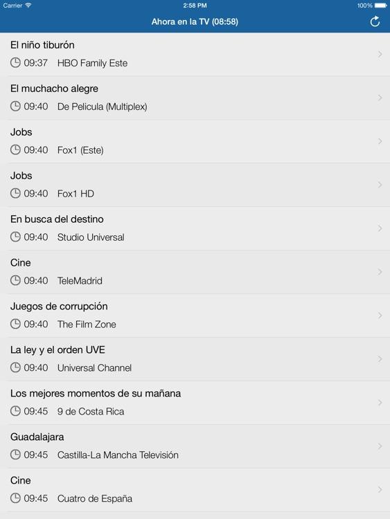 Televisión de Panamá para iPad screenshot-3