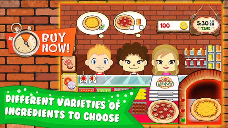 Pizza Cooking - restaurant fever dash simulation game screenshot-3