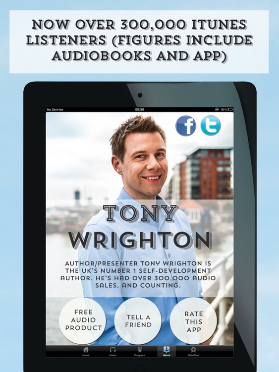 Self Development Audiobooks by Tony Wrighton HD screenshot-3