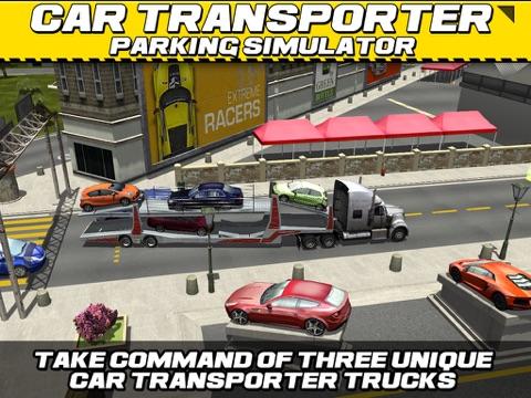 Car Transport Truck Parking Simulator - АвтомобильГонки ИгрыБесплатно на iPad