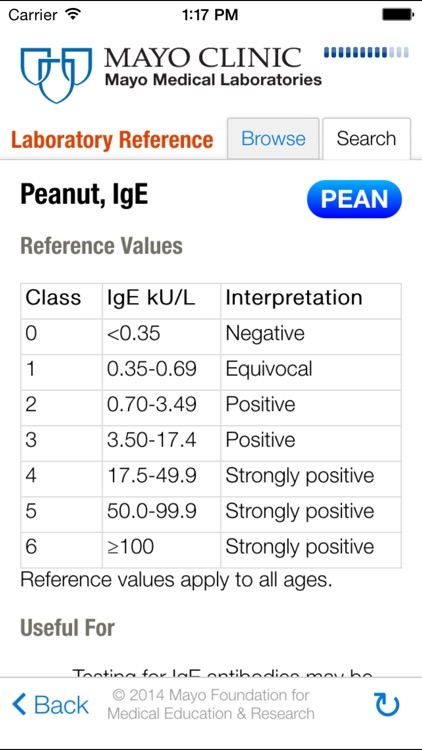 Lab Reference for iPhone screenshot-4