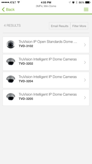 Truvision Ip Camera Selector On The App Store