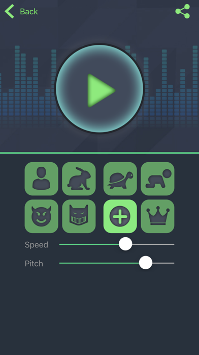 Simple Voice Changer - Sound Recorder Editor with Male Female Audio