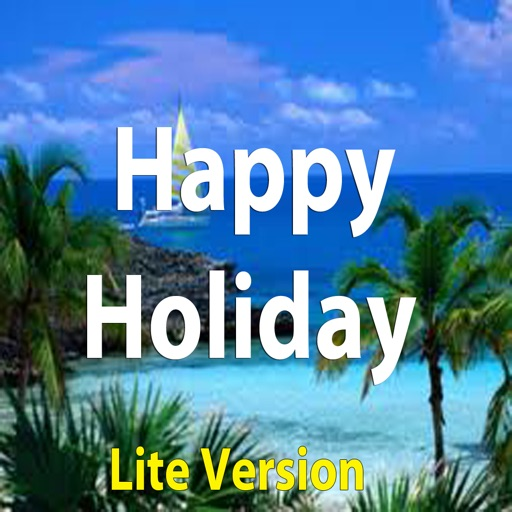 Happy Holiday Greeting.Happy Travel e-Cards.Vacations Greeting Cards
