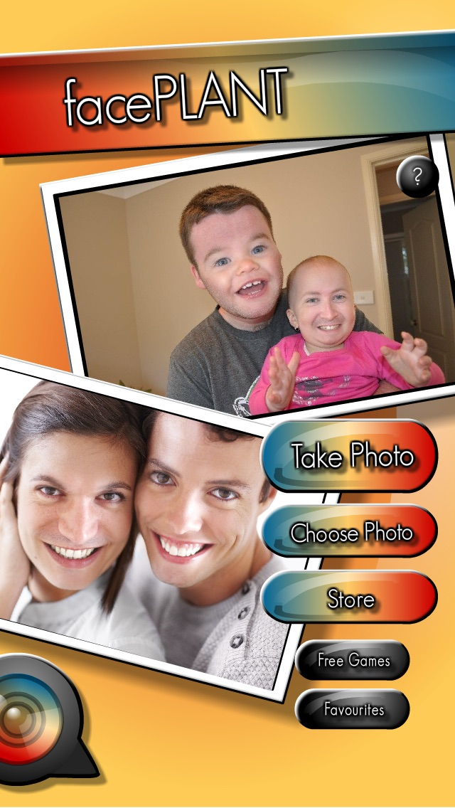 How to superimpose faces