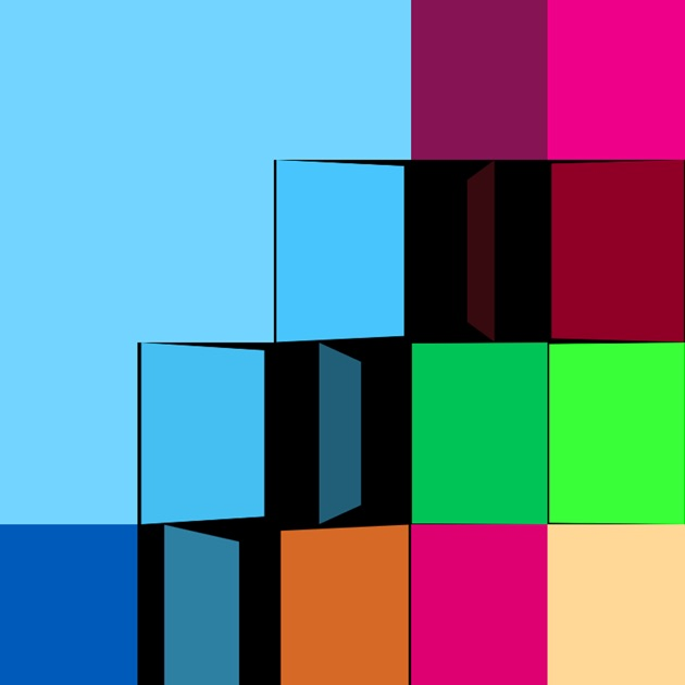 Color squares early infant development game on the app store for Color coordinated apps
