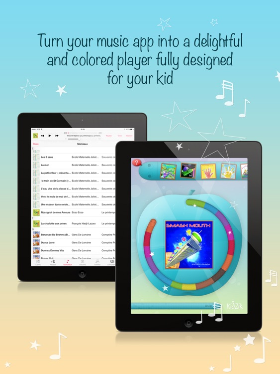 KidZik, music player for kids screenshot-0