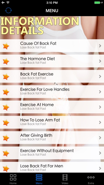 Best Effective Lose Back Fats Workout Diet Guide - Easy Fast Fat Buring Exercise Solutions, Start Today!
