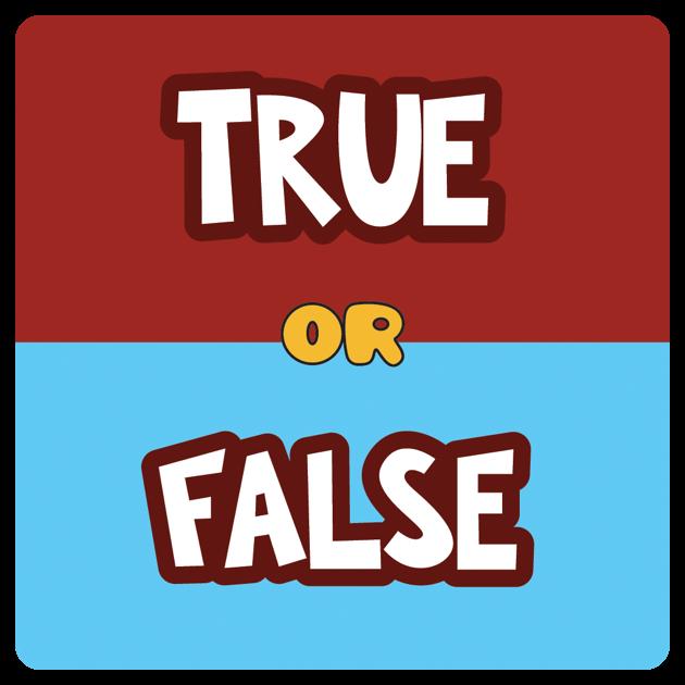 True or False quiz challenge on the App Store