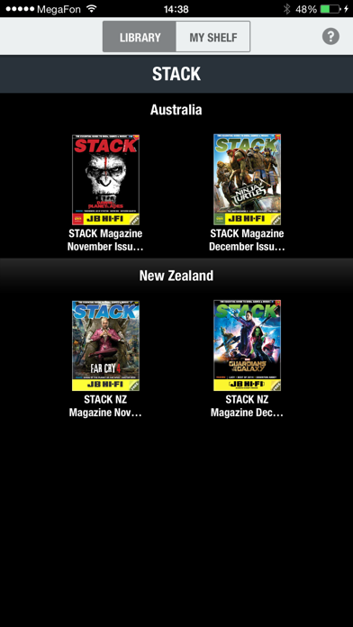 STACK Magazine screenshot one