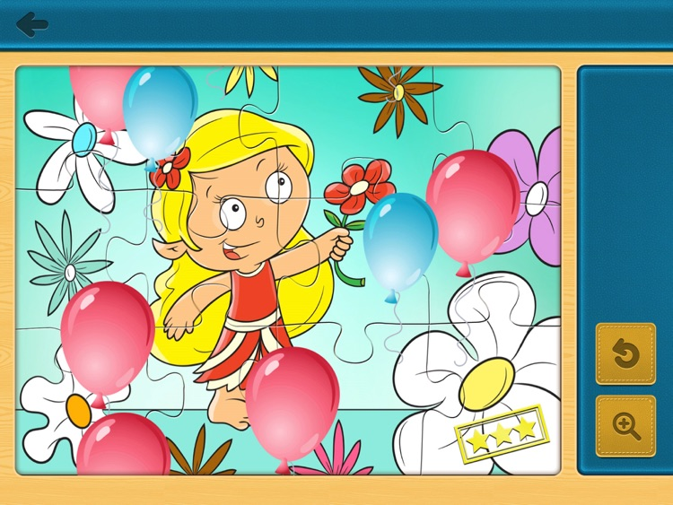 Jigsaw Puzzles (Princess) FREE - Kids Puzzle Learning Games for Preschoolers with Fairies & Princesses screenshot-3
