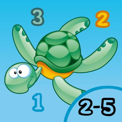 Игра для детей 2-5 лет о животных океана: игры и головоломки для детского сада, дошкольного или детском саду с видом на море, вода, рыба