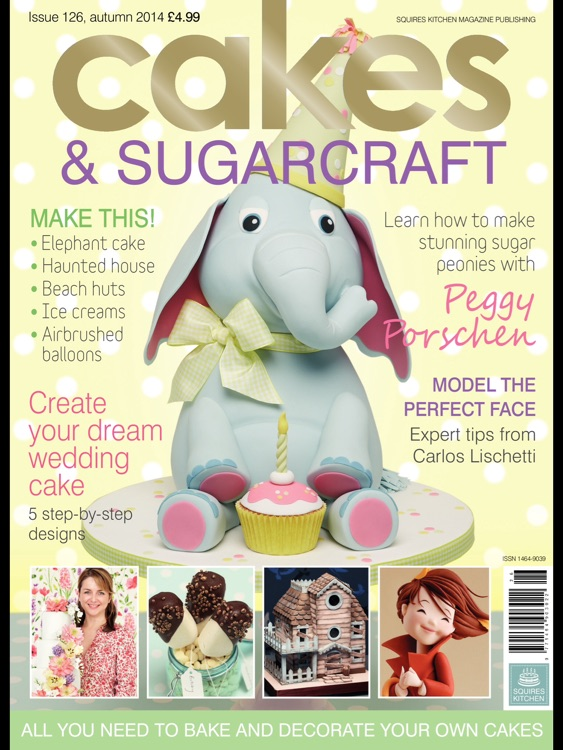 Cakes & Sugarcraft Magazine: all you need to bake and decorate your own cakes screenshot-0