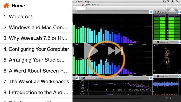 AV for WaveLab - Editing and Metering