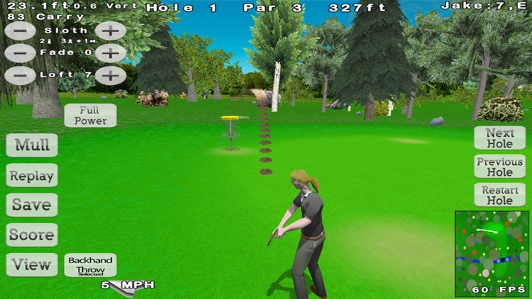 Disc Golf 3D Lite screenshot-4