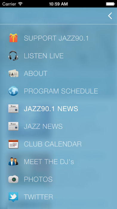 Jazz90.1 WGMC-FM screenshot one