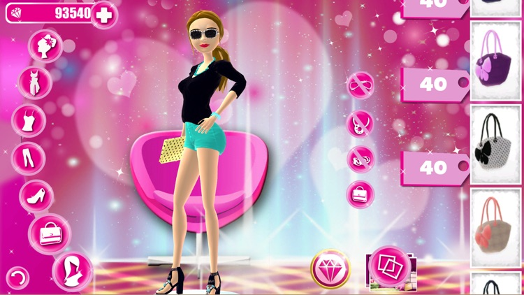 Style Girl! Dress Up Game for Girls and Teens - Fantasy Fashion Salon & Beauty Makeover Studio