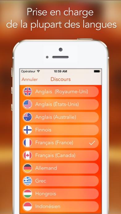 Screenshot #3 pour Reconnaisseur de Parole : Convertissez votre voix en texte grâce à cette application de dictée.