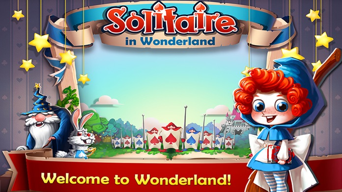 Solitaire in Wonderland Screenshot