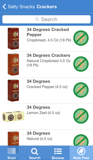 Nut-Free Food Screenshot