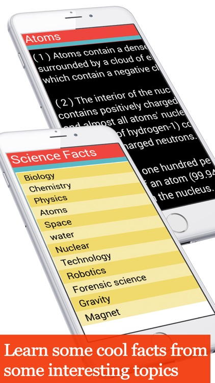 Science facts collection screenshot-3