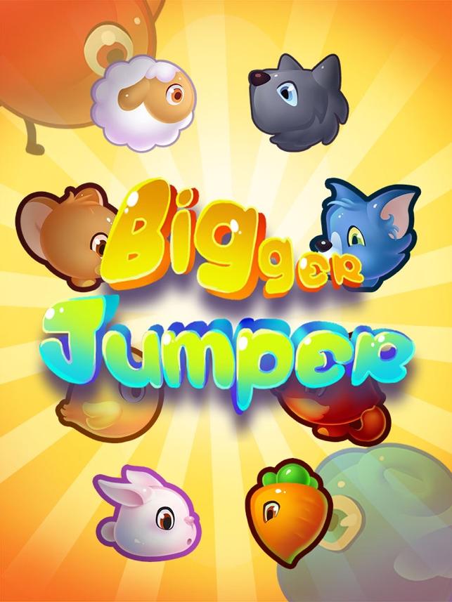BiggerJumper, game for IOS