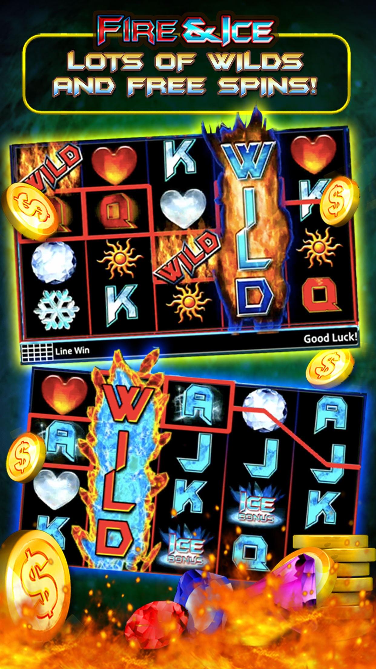 Fire and Ice Slots | Free Slot Machine Games Screenshot