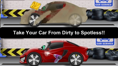 Awesome Lightning Fast Car Wash Salon and Auto Repair Game For Kids screenshot two
