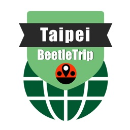Taipei travel guide and offline city map, Beetletrip Augmented Reality Metro Train and Walks