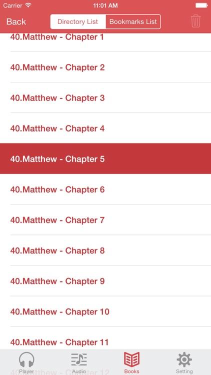 KJV Bible (Audio & Book) screenshot-4
