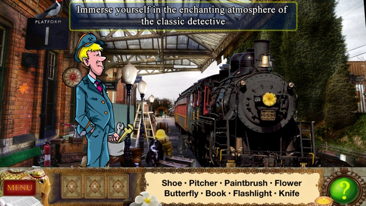 Detective Holmes: Trap for the Hunter – Hidden Objects Adventure screenshot-0