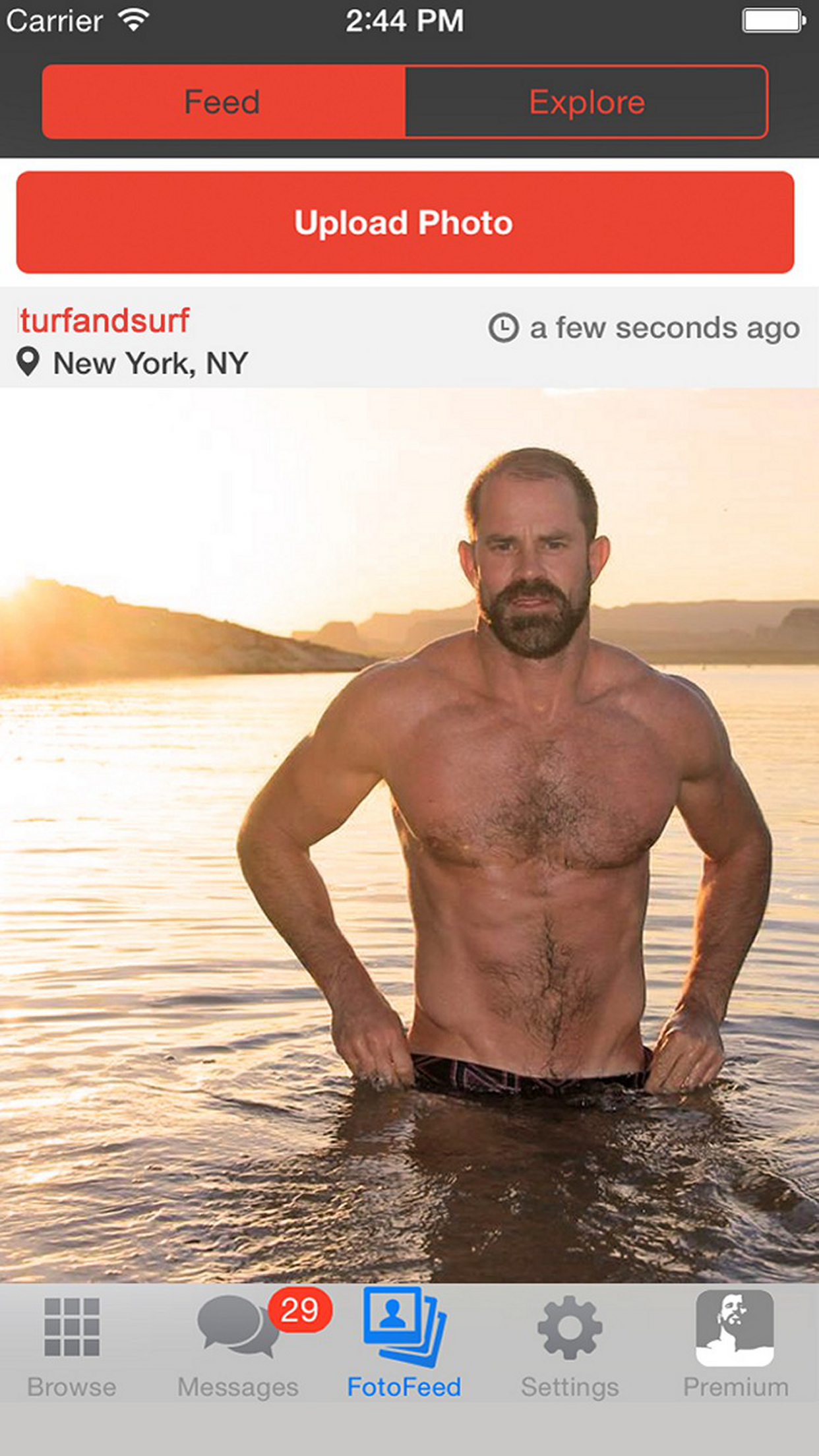 Daddyhunt: Gay chat & dating Screenshot