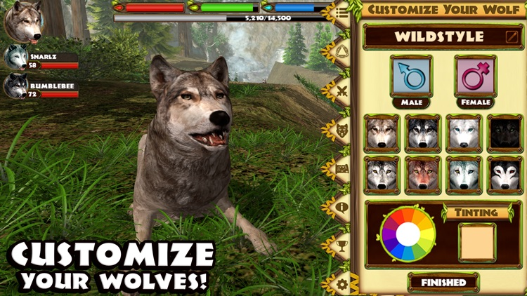 Ultimate Wolf Simulator screenshot-3