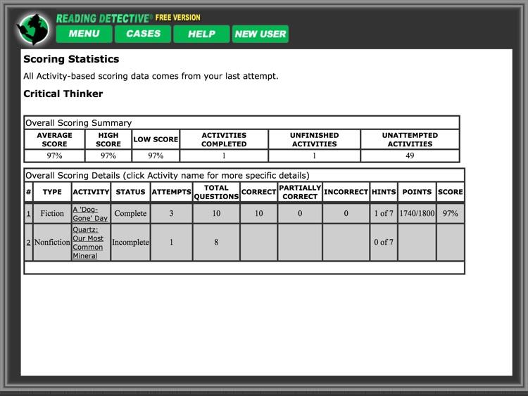 Reading Detective® A1 (Free) screenshot-4