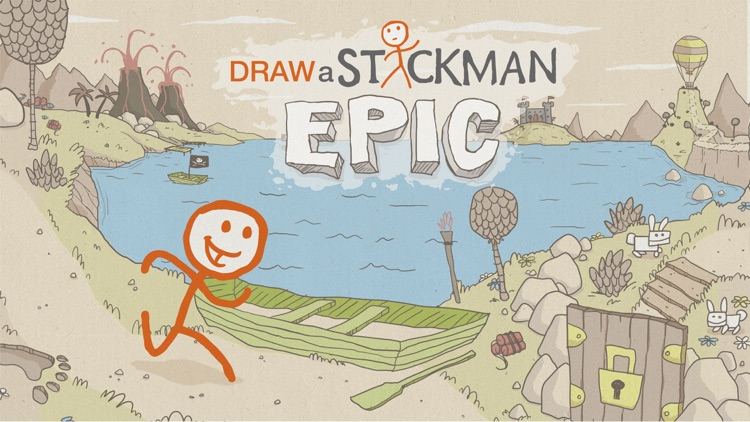Draw a Stickman: EPIC Free screenshot-0