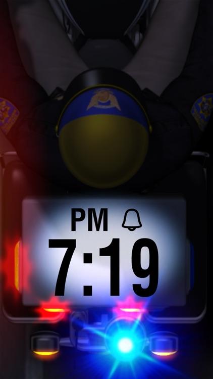 Motor Cop Alarm Clock screenshot-3
