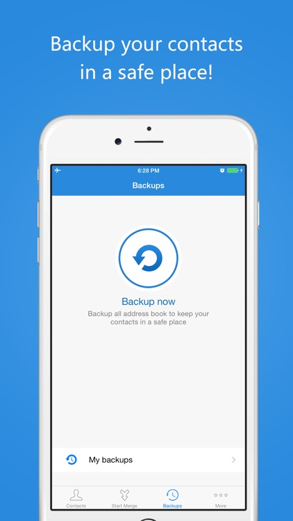 Contacts Cleaner Pro - Cleanup & Merge Duplicate Contacts & Easy Backup screenshot-4