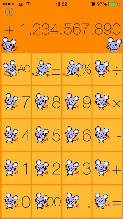 Cute mouse calculator screenshot-3