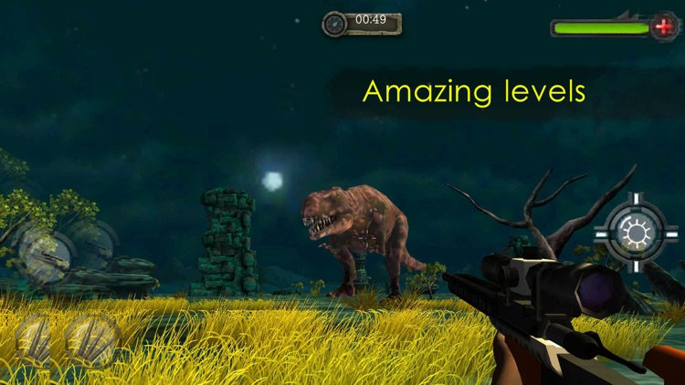 Jurassic Hunt 3D. Best Dinosaur Hunting World Simulator screenshot-3
