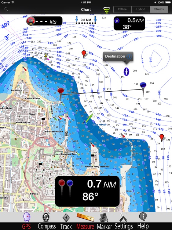 Aegean S. Nautical Charts Pro screenshot-0