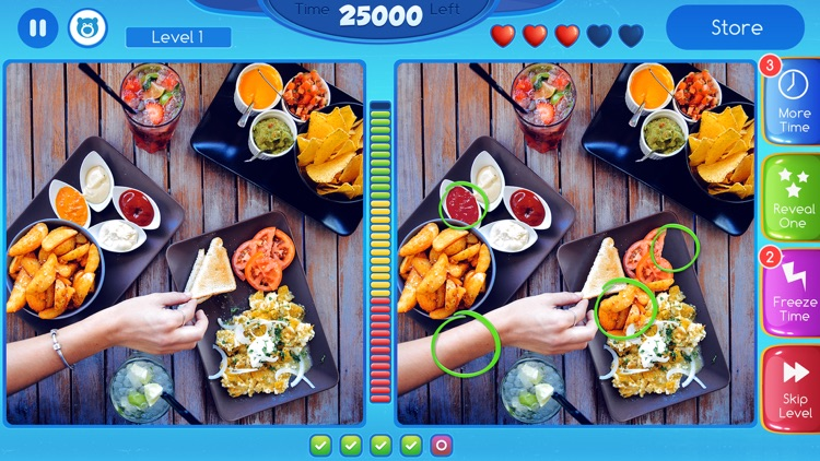 Spot The Difference! - What's the difference? A fun puzzle game for all the family screenshot-3