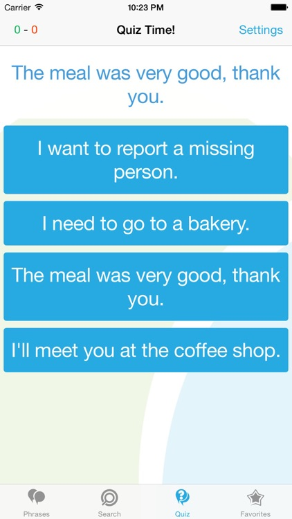 English (US) Phrasebook - Travel in US with ease screenshot-3